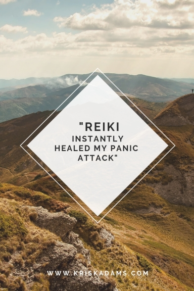 Reiki instantly healed my panic attack.