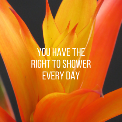 you have the right to shower every day (1)